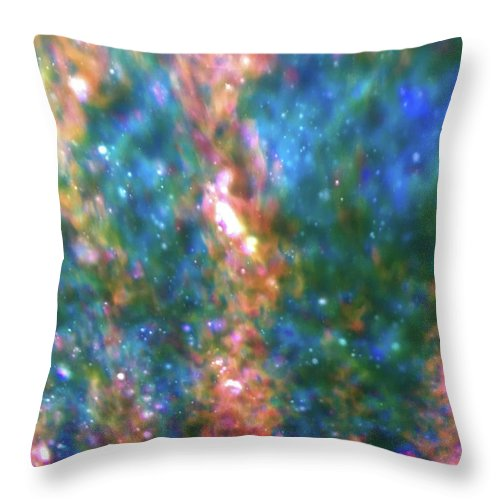 Cloud Throw Pillow featuring the photograph View 10 by Margaret Denny