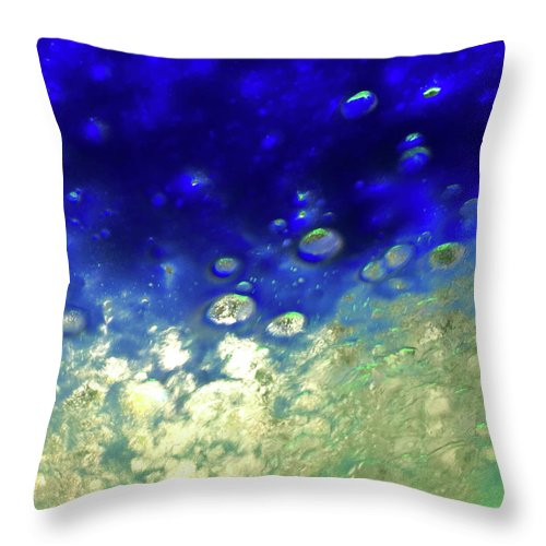 Cloud Throw Pillow featuring the photograph View 11 by Margaret Denny