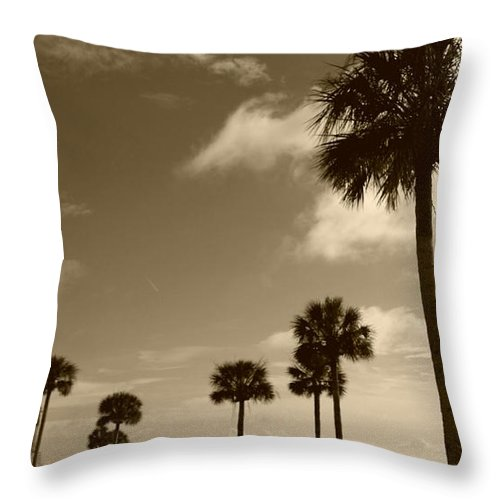 Fort Throw Pillow featuring the photograph View Of Castillo De San Marcos by Tiffney Heaning