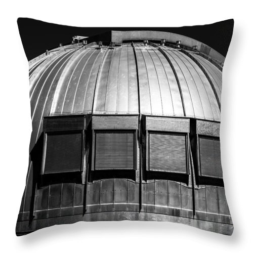 Ocean Throw Pillow featuring the photograph Vintage Modern by JJ Tondo