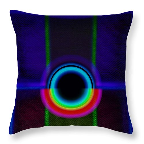 Portal Throw Pillow featuring the painting Vista by Charles Stuart