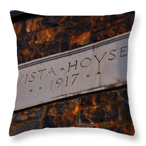 Vista House Throw Pillow featuring the photograph Vista House by Noah Cole