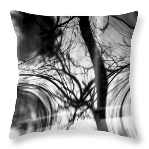 Abstracts Throw Pillow featuring the photograph Visual Funk 1 by Linda McRae
