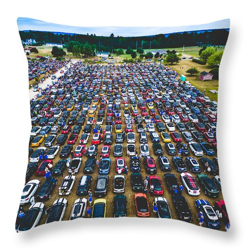 Mini Throw Pillow featuring the photograph Waiting Bridge by Mike Bober - Northshire Photo