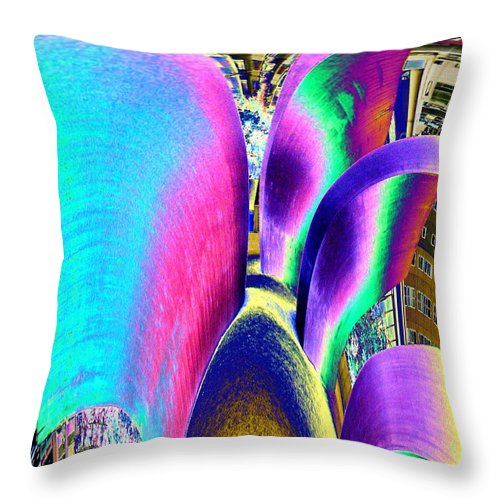 Wake Throw Pillow featuring the photograph Wake by Tim Allen