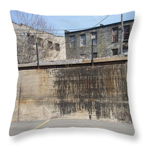 Walker's Point Throw Pillow featuring the photograph Walker's Point 3 by Anita Burgermeister