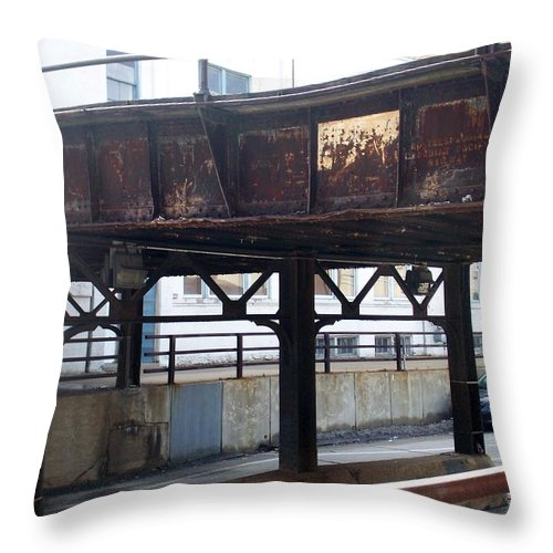 Walker's Point Throw Pillow featuring the photograph Walker's Point 5 by Anita Burgermeister