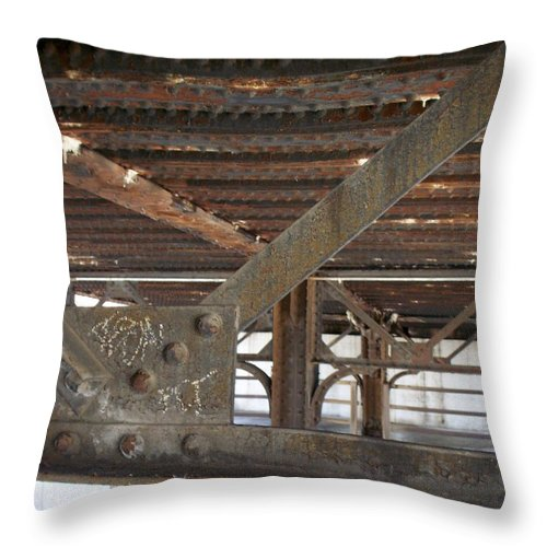 Walker's Point Throw Pillow featuring the photograph Walker's Point 6 by Anita Burgermeister
