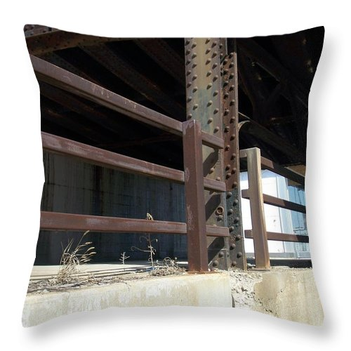 Walker's Point Throw Pillow featuring the photograph Walker's Point 8 by Anita Burgermeister