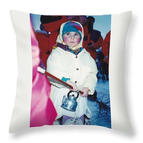Sweden Throw Pillow featuring the photograph Walpurgis Night by Maria Joy