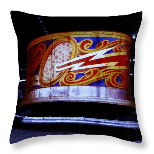 Waltzer Throw Pillow featuring the photograph Waltzer by Charles Stuart
