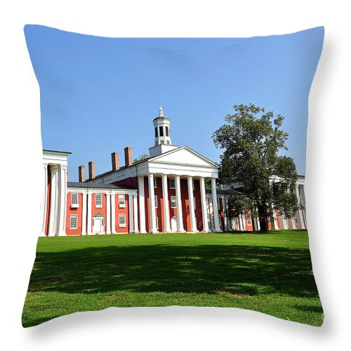 W&l Throw Pillow featuring the photograph Washington And Lee by Todd Hostetter