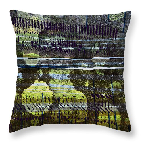 Wastwater Throw Pillow featuring the digital art Wastwater by Andy Mercer