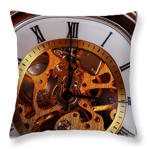 Clay Throw Pillow featuring the photograph Watch This by Clayton Bruster