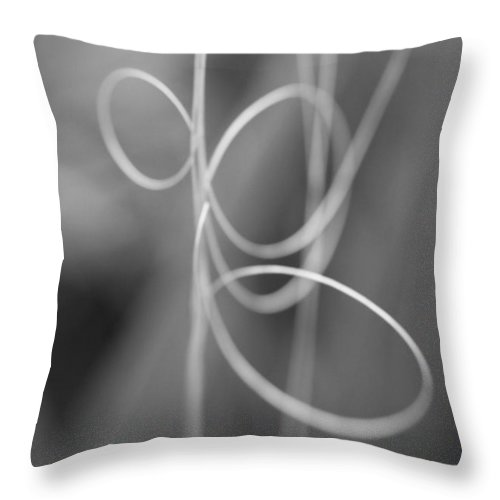 Water Bead Throw Pillow featuring the photograph Water Bead Roller Coaster by Mandy Shupp