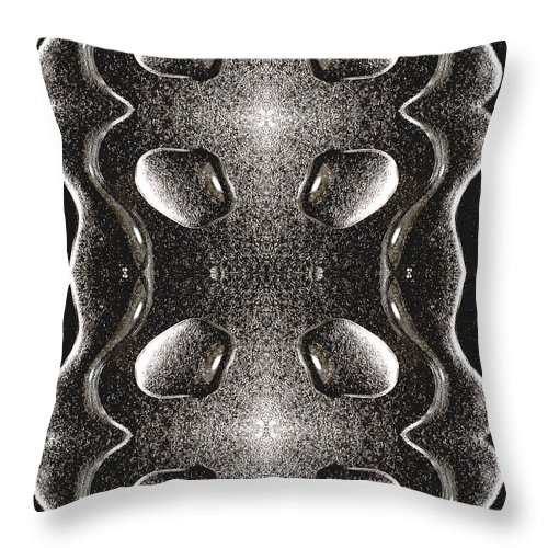Water Throw Pillow featuring the photograph Waterscape 1 by Nancy Mueller