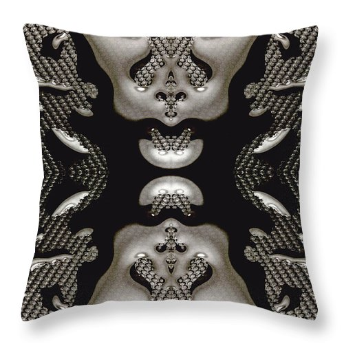 Water Throw Pillow featuring the photograph Waterscape 3 by Nancy Mueller