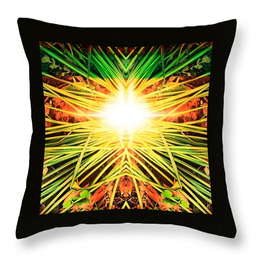Photoshop Throw Pillow featuring the digital art Way Back Home by Keri Fuller