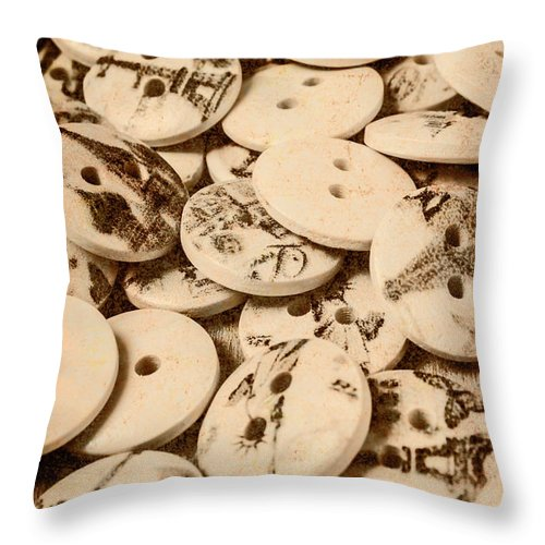 Old Throw Pillow featuring the photograph Weathered But Not Worn by Jorgo Photography - Wall Art Gallery