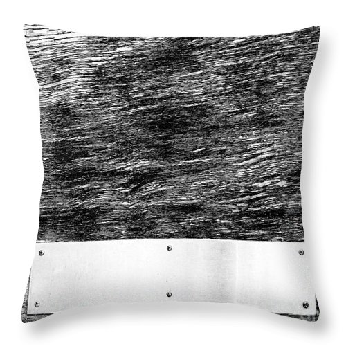 Dipasquale Throw Pillow featuring the photograph Weathered by Dana DiPasquale