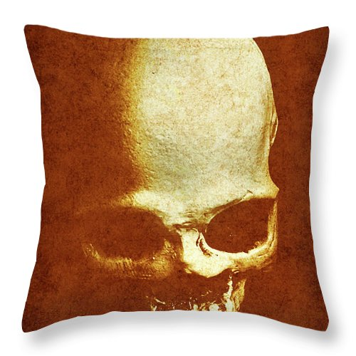 Vintage Throw Pillow featuring the photograph Weathered Remains by Jorgo Photography - Wall Art Gallery