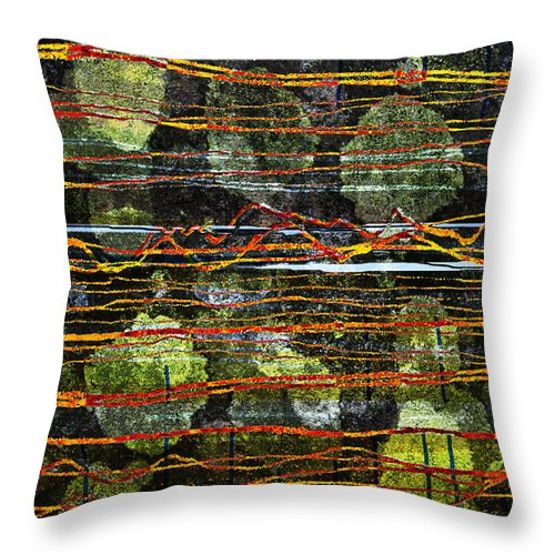 Westmorland Throw Pillow featuring the digital art Westmorland by Andy Mercer