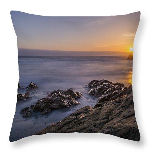 Landscape Throw Pillow featuring the photograph Westport by Josh Meier