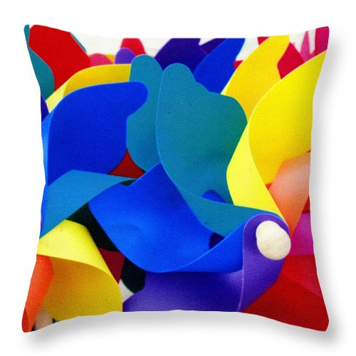 Toy Throw Pillow featuring the photograph What Goes Around by Wayne Potrafka