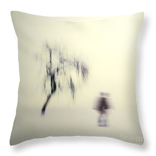 Blur Throw Pillow featuring the photograph What Is The Way To The Light by Dana DiPasquale