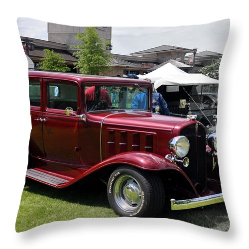 Antique Throw Pillow featuring the photograph What Suv by Terry Anderson