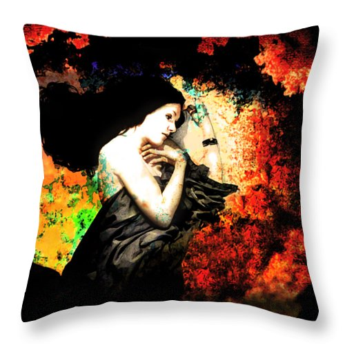 Sleep Throw Pillow featuring the photograph When Sleep Begins To Engulf.... by Jeff Burgess