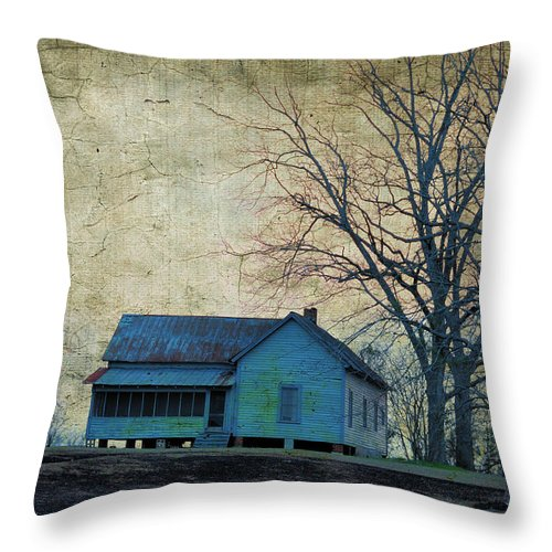 Landscapes Throw Pillow featuring the photograph When Will You Be Home by Jan Amiss Photography