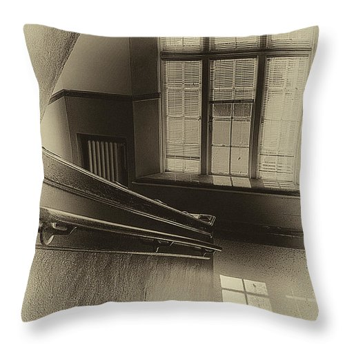 Pullman High Throw Pillow featuring the photograph Where Memories Were Made by David Patterson