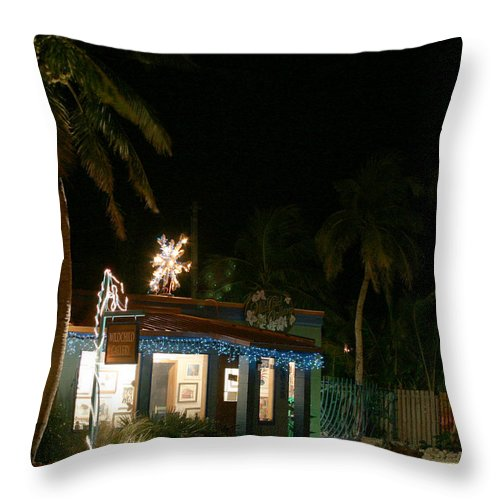 Scenic Florida Throw Pillow featuring the photograph Wild Child Gallery by Joseph G Holland