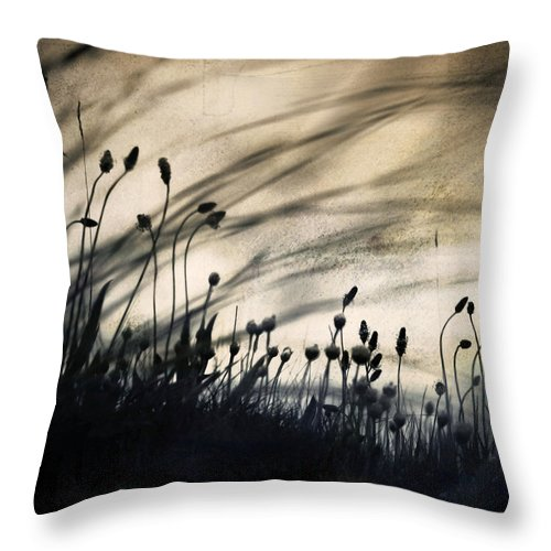 Flower Throw Pillow featuring the photograph Wild Things - Number 2 by Dorit Fuhg