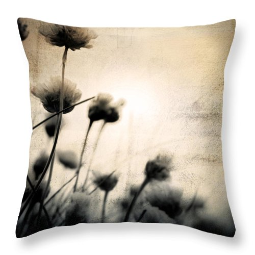 Flower Throw Pillow featuring the photograph Wild Things - Number 3 by Dorit Fuhg
