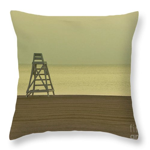 Beach Throw Pillow featuring the photograph Will You Lay Here With Me And Just Forget The World by Dana DiPasquale