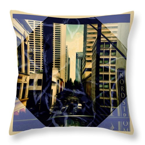Art Throw Pillow featuring the photograph Overlook Avenue by Ryan Fox