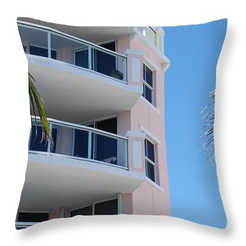 Architecture Throw Pillow featuring the photograph Windows 10 by Rob Hans
