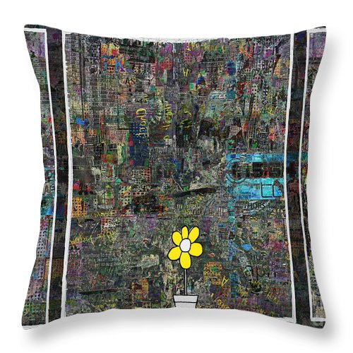 Window Throw Pillow featuring the digital art Windows 8 by Andy Mercer