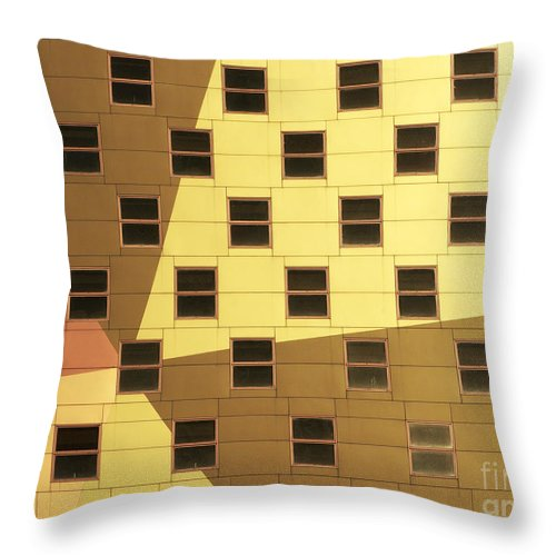 Windows Throw Pillow featuring the photograph Windows by Tony Cordoza