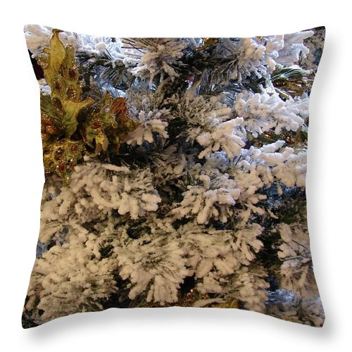 Winter Throw Pillow featuring the photograph Winter by Bob Carey