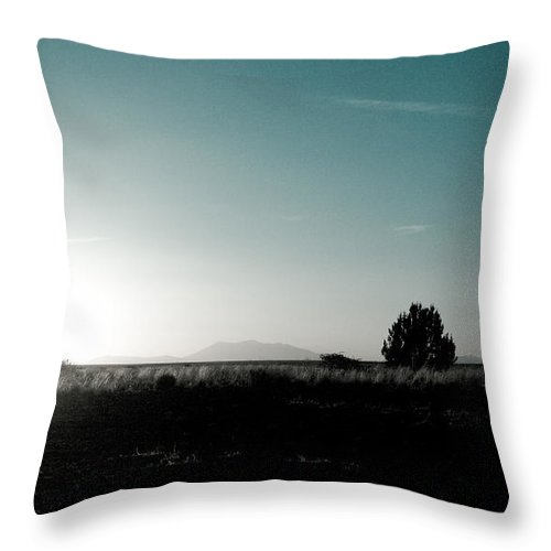 Woman Throw Pillow featuring the photograph Woman Standng by Scott Sawyer