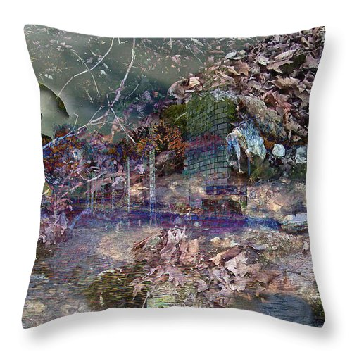 Urban Throw Pillow featuring the photograph Wonderlight by Julie Grace