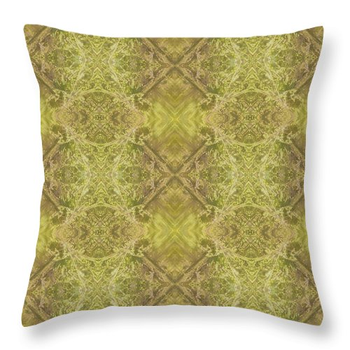 Pattern Throw Pillow featuring the digital art Xs And Os by Theresa Asher