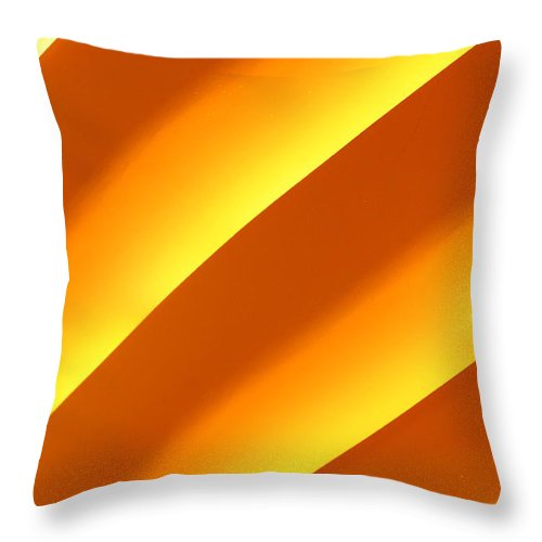 Yellow Throw Pillow featuring the photograph Yellow by Artie Rawls