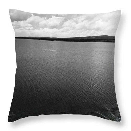 Lake Throw Pillow featuring the photograph Yellowstone Lake by Jessica Wakefield