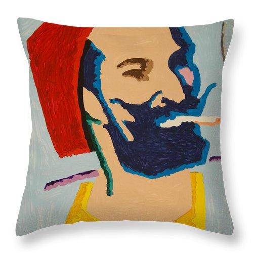 Zig Zag Man Throw Pillow For Sale By Stormm Bradshaw