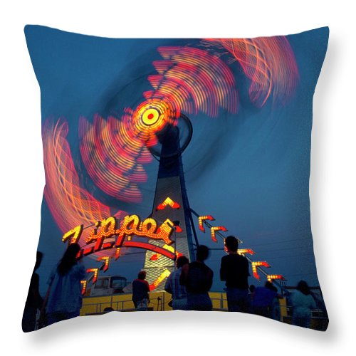 Photography Throw Pillow featuring the photograph Zipper Two by Frederic A Reinecke