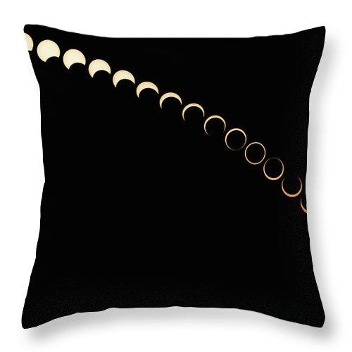 Annular Solar Eclipse Throw Pillow For Sale By Siegfried Layda